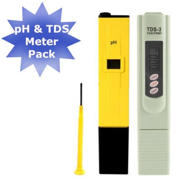 Digital Ph Meter Tds Meter Combo Pack Discount Instruments