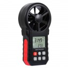 Digital Handheld and Vane Anemometer for Wind Speed Temperature and Air Velocity