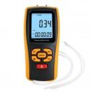 Dual Port Digital Manometer & Air Pressure Meter