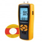 Professional Digital Manometer & Differential Pressure Gauge with USB Interface