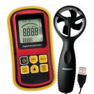 Digital Anemometer With Sensor Vane Probe