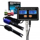 Rechargeable Online PH & EC Conductivity Monitor Meter & Water Quality Tester W/ Real-time Continuous Monitoring